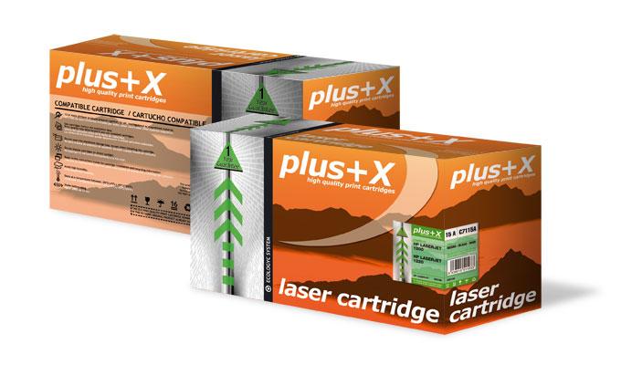 """Cajas tóner """"Plus+X"""""""