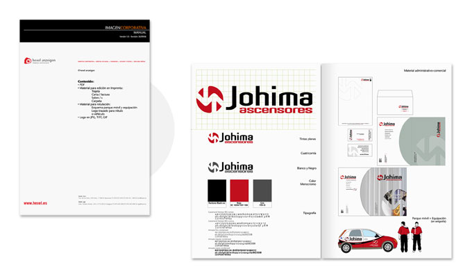 Manual Identidad Johima